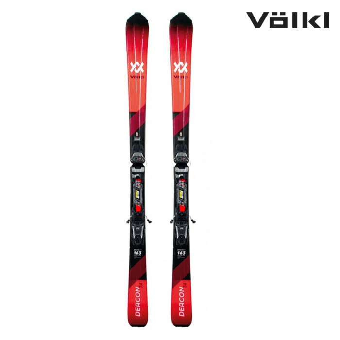 Völk 뵐클 스키 Deacon 7.4 RED_BLACK FDT